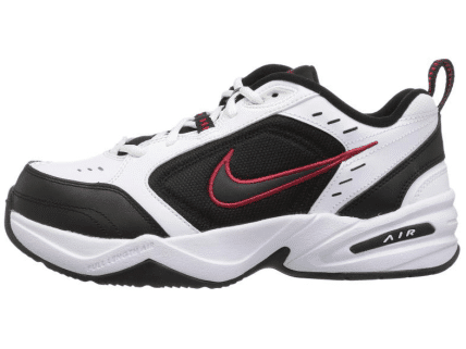 Comprehensive Training Shoes in black and white