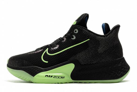 Black basketball shoes
