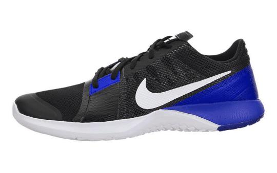 Black Comprehensive Training Shoes