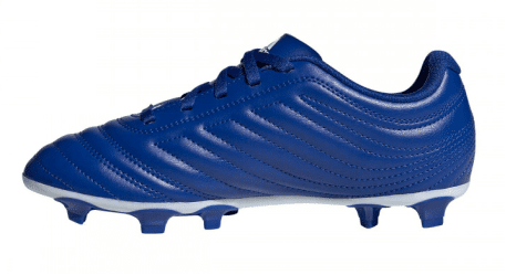 Blue smooth football boots