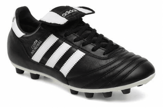 Black football boots