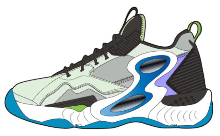 Blue High Oem & Odm Custom Shoes