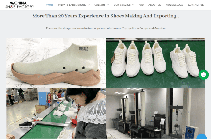 xindesheng private label shoe website