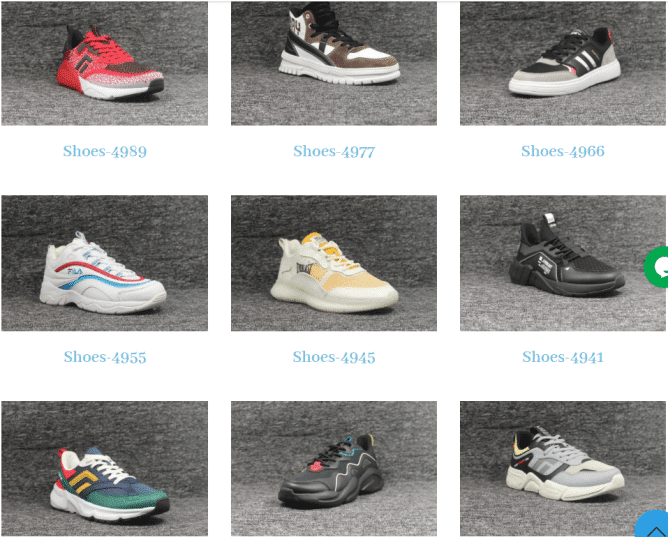 xindesheng private label shoes list