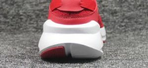 Private label running shoes-white sole